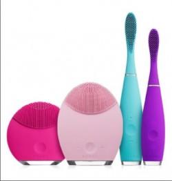 Foreo; urządzenia kosmetyczne;szczota do zębów; masażer; wybielanie zębów;