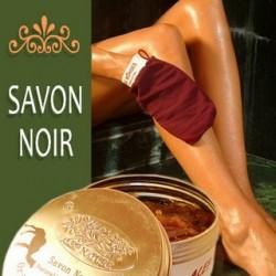 Czarne Mydło Savon Noir  Gommage z Maroko